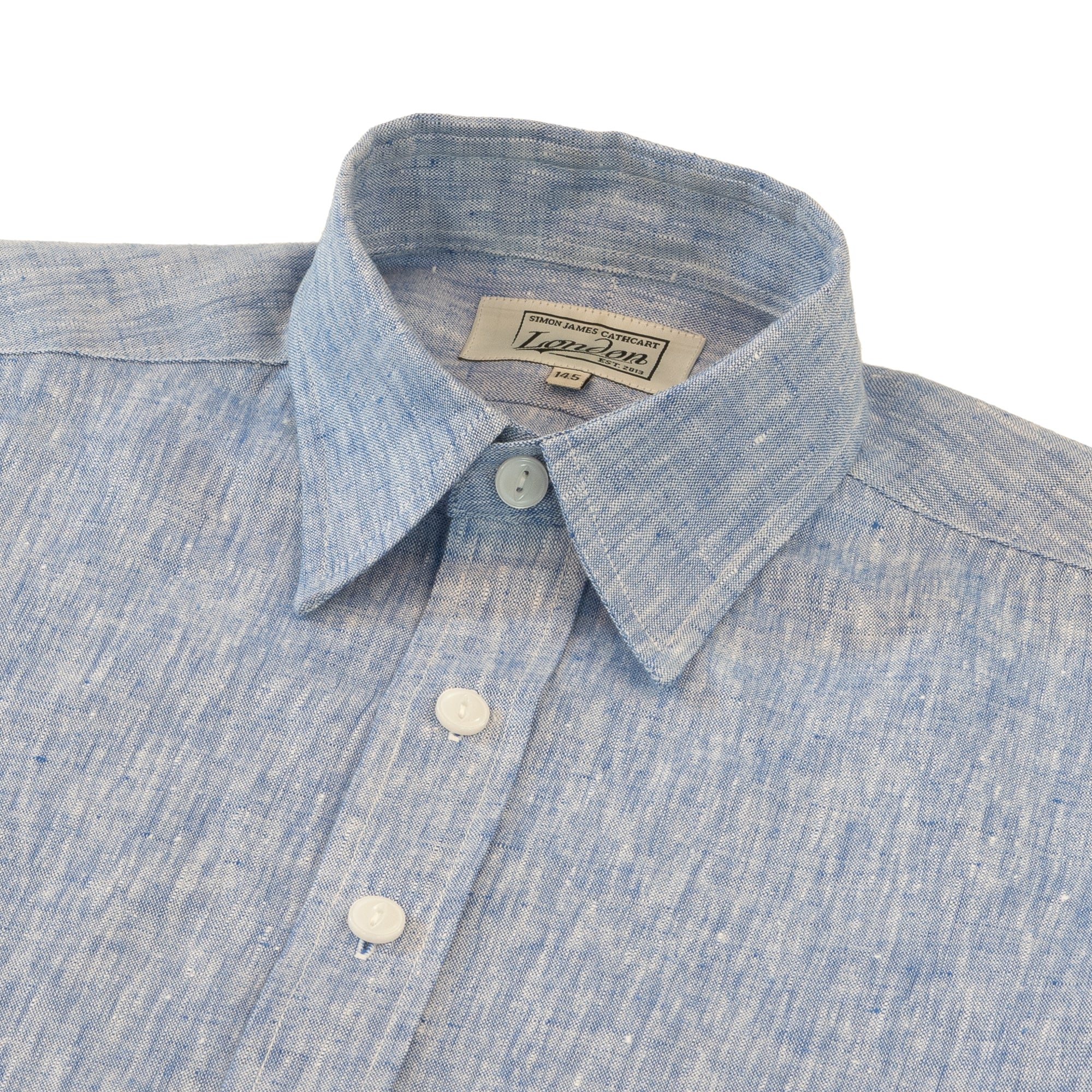Cobalt Blue Elba Shirt