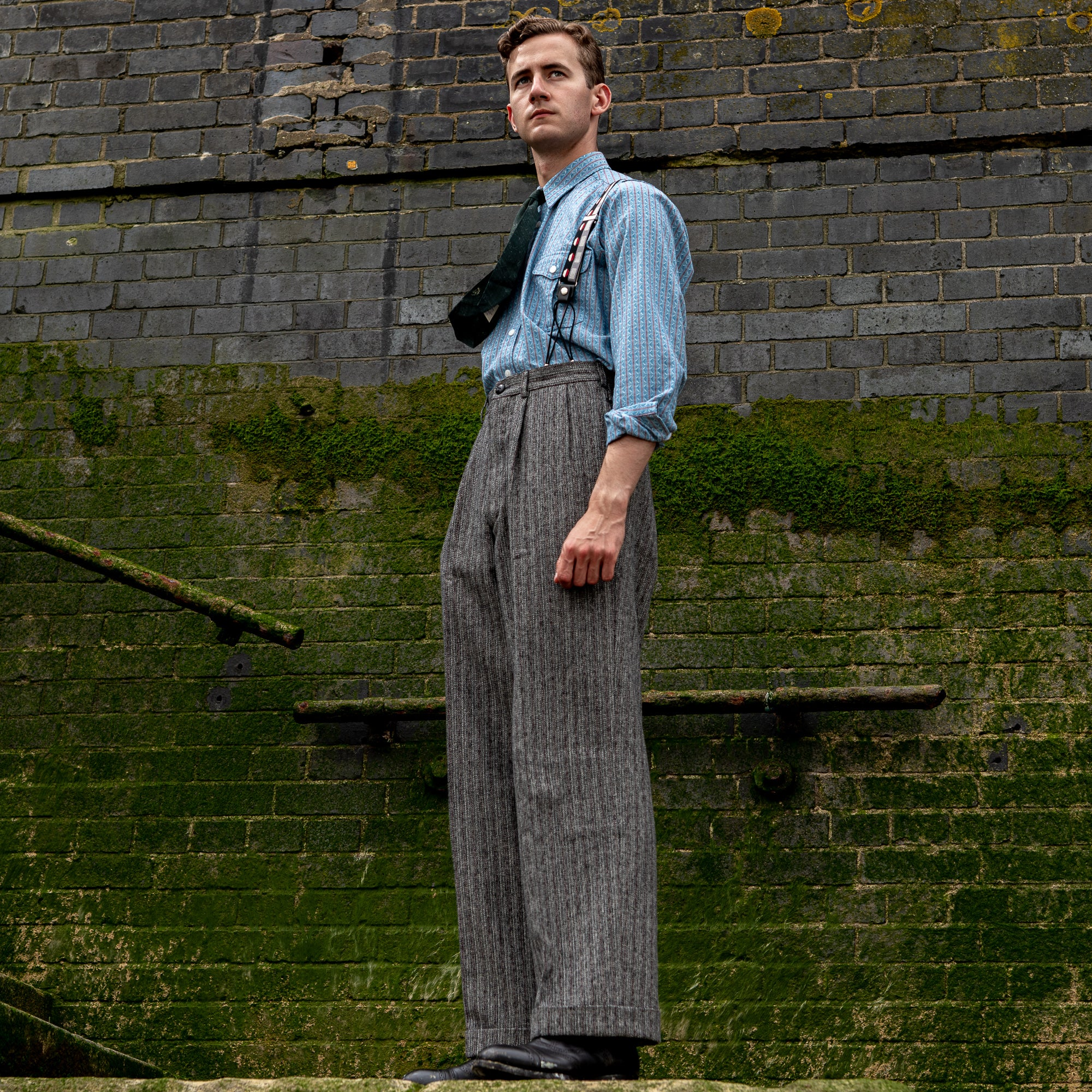 Open-Weave Arkwright Trouser