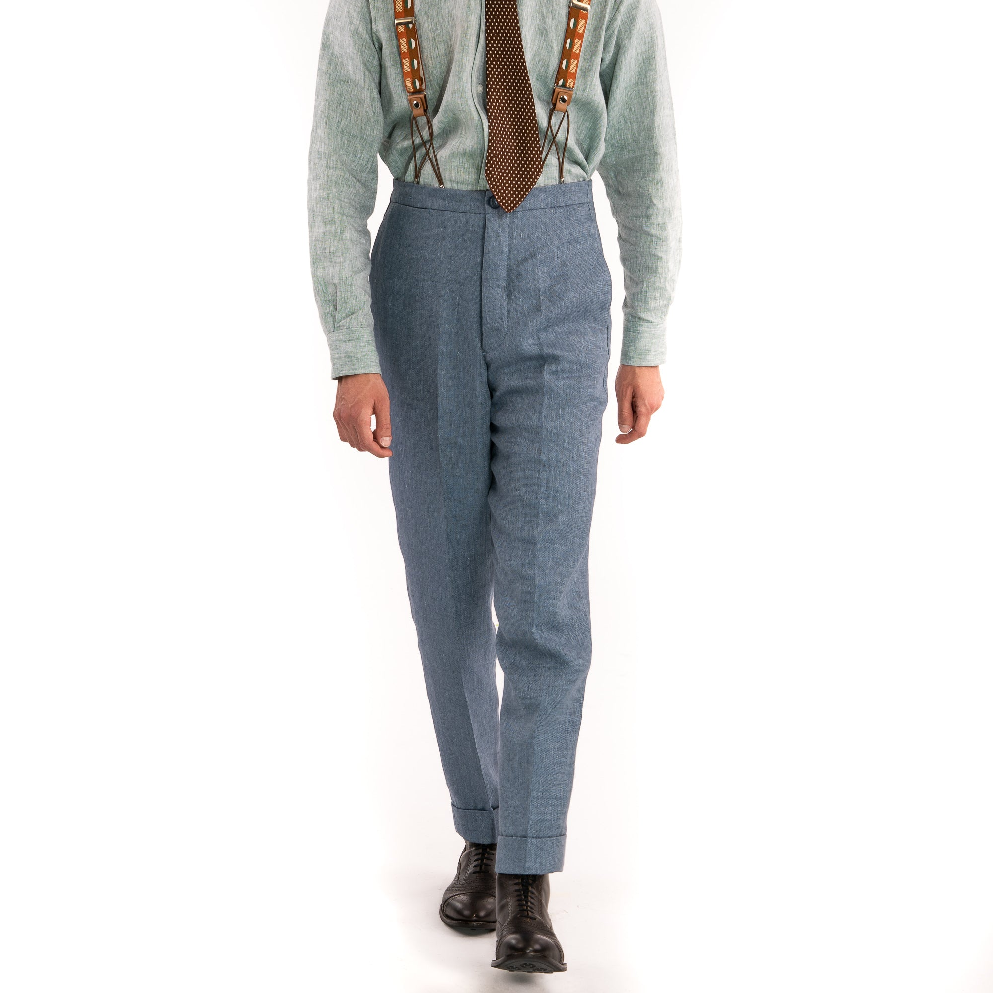 Supermarine Blue Vanderbilt Trousers
