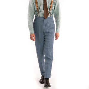 Supermarine Blue Vanderbilt Trouser