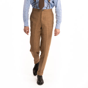 Tobacco Vanderbilt Trousers