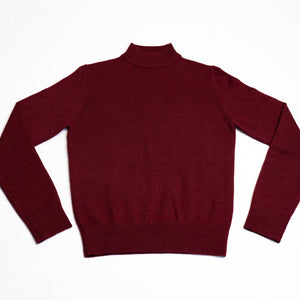 Burgundy Pilot Turtleneck
