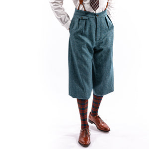 Blue Teal King Cole Plus Fours