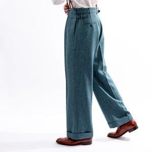 Blue Teal King Cole Trousers