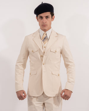 Cream Arkwright Jacket