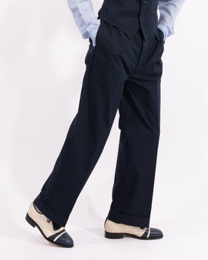 Navy King Cole Trousers