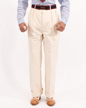 Cream King Cole Trousers
