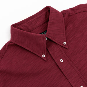 Burgundy Button-Down Shirt