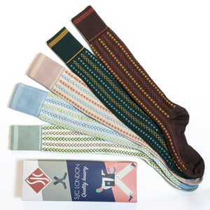 Chevron Socks - 5 Pack
