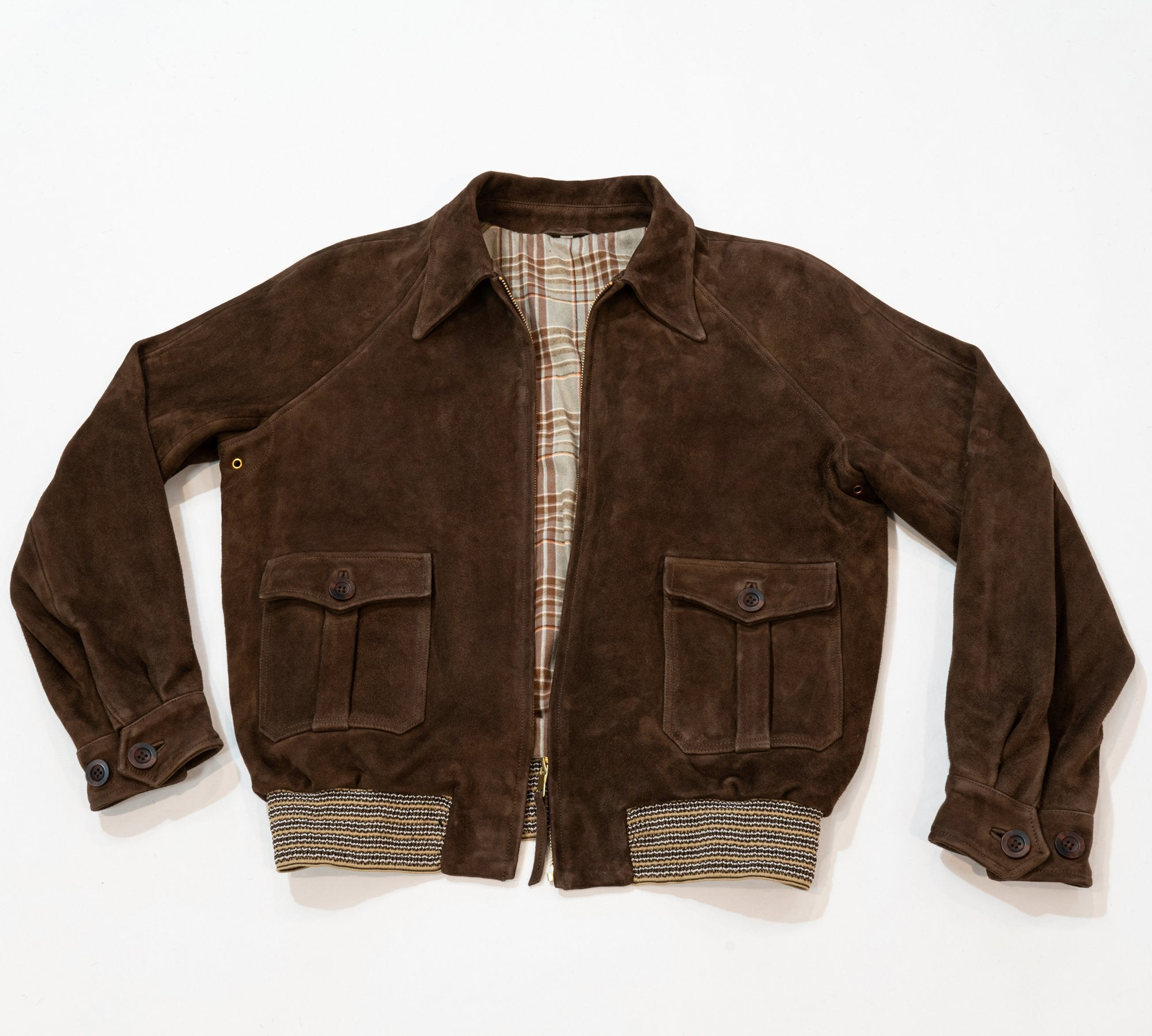 Suede Brookland Jacket