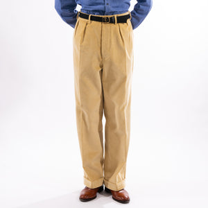Straw Corduroy King Cole Trousers