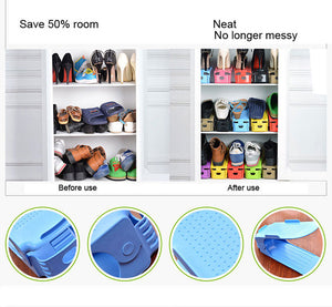 Easy Magic Shoes Organizer-Double your shoes storage space in a snap! - Go Shopping Best