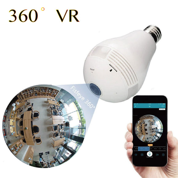 360° SMART HOME LED BULB CAMERA - Go Shopping Best