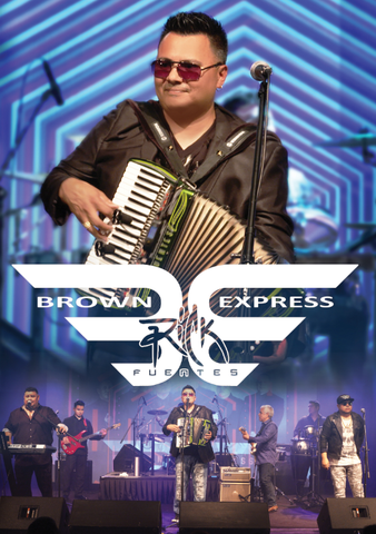 Rick Fuentes & The Brown Express (DVD)