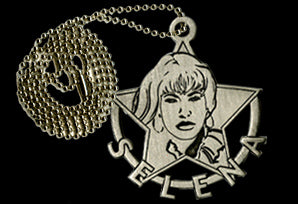 Pewter Selena Necklace
