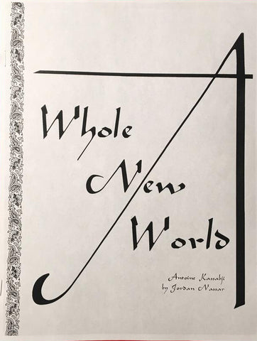 A Whole New World: Antoine Kassabji