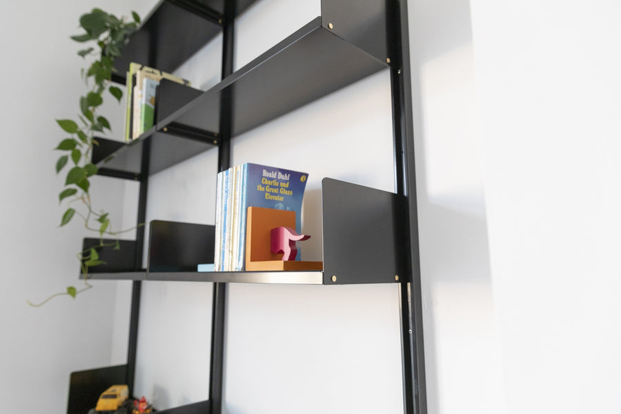 Sizing smpl. shelves for books (and magazines)