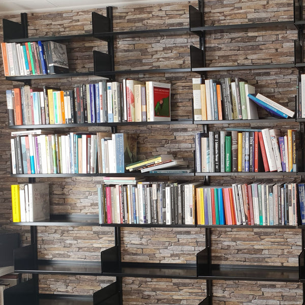 smpl. Shelving with Books