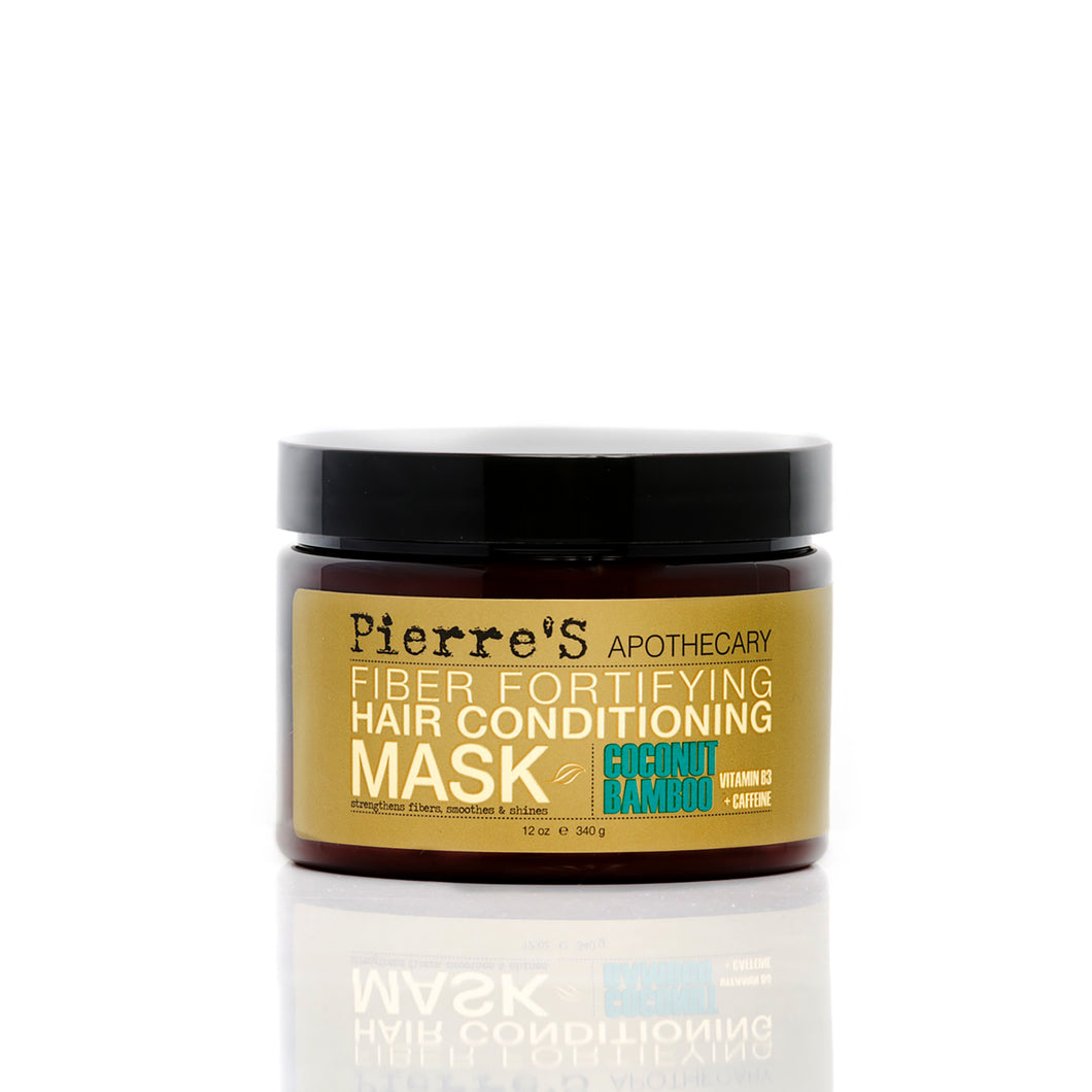 Coconut Bamboo Fiber Fortifying Hair Conditioning Mask