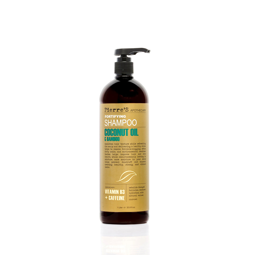 Coconut Oil & Bamboo Fortifying Shampoo