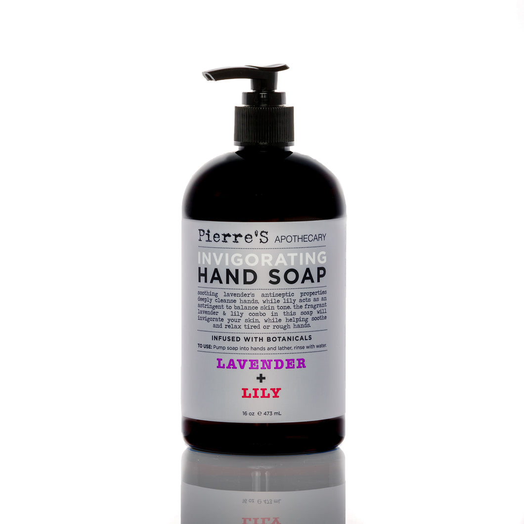 Lavender & Lily Invigorating Hand Soap