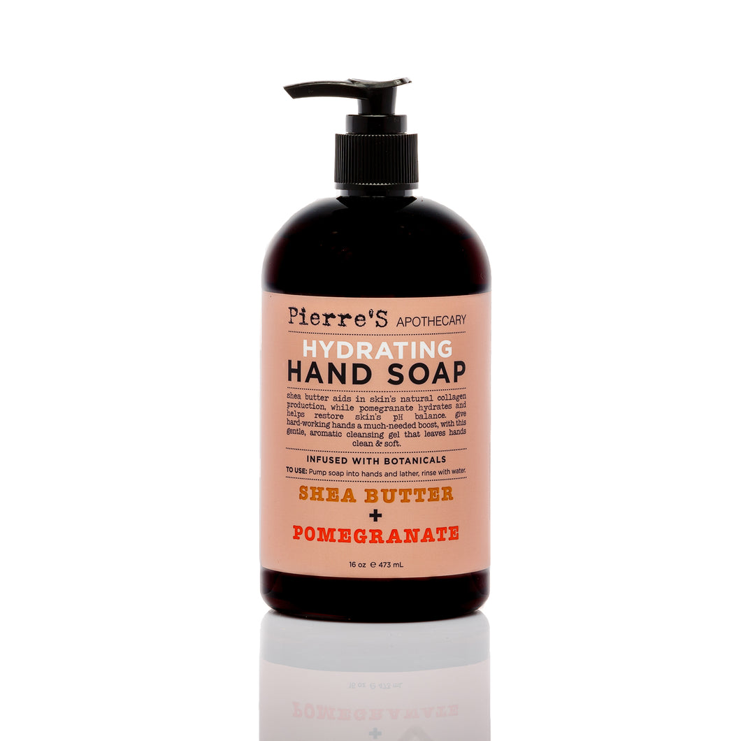 Shea Butter & Pomegranate Hydrating Hand Soap