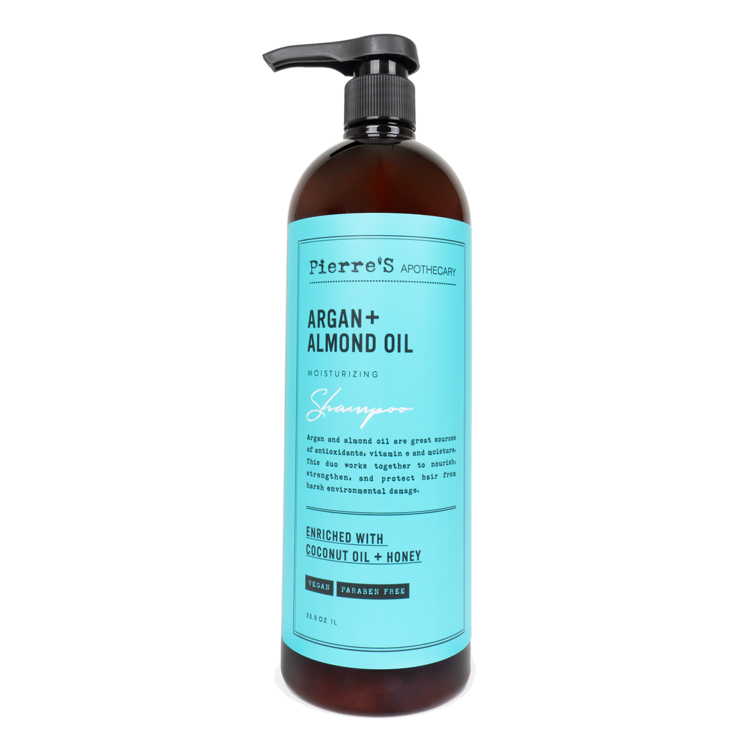 Argan & Almond Oil Moisturizing Shampoo - Updated Label