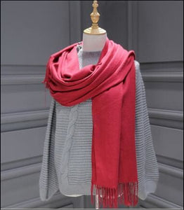Cashmere Scarf 175cm long, click to choose colour - Samsara Online
