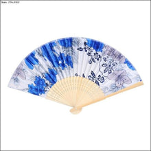 Colorful Chinese Bamboo Folding Hand Fan OAE - Samsara Online