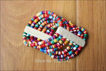 Colorful Yak Bone Beaded Bracelet Nepal - Samsara Online