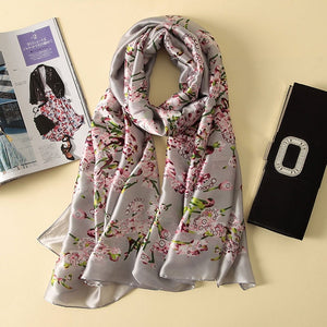 Silk Scarf in beautiful colours and designs, click to choose