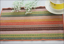 Pure cotton striped dining table placemat OAE - Samsara Online