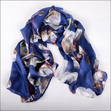 Pure silk printed scarf, wrap, shawl 175cmx110cm, beautiful colours click to choose - Samsara Online