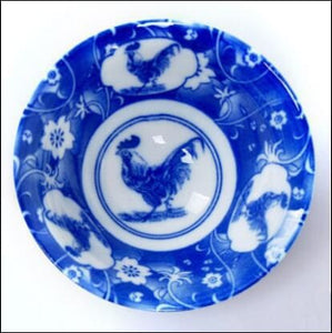 TANGPIN blue-and-white japanese ceramic tea cup for puer teacup porcelain chinese kung fu tea set - Samsara Online