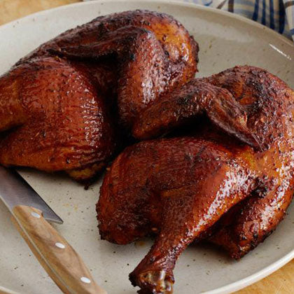 BBQ Chicken Halves