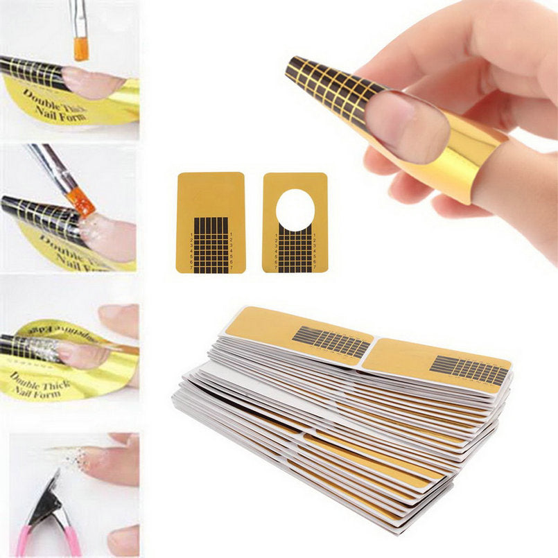 100pcs/set Professional Nail Tools Tips Nail Art - Sleeky