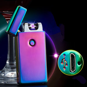 Cross Double Arc USB Lighter - Sleeky