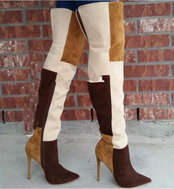 Everything Over=The Knee=Boots - Sleeky