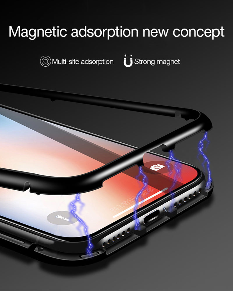 Magnetic Transparent Phone Cases - Sleeky