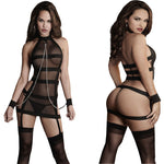 Lingerie Lace Handcuff Costumes Shackle Bundled - Sleeky