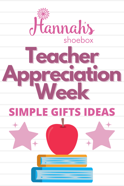 Teacher Appreciation Simple Gift Ideas to Make Your Teacher Smile