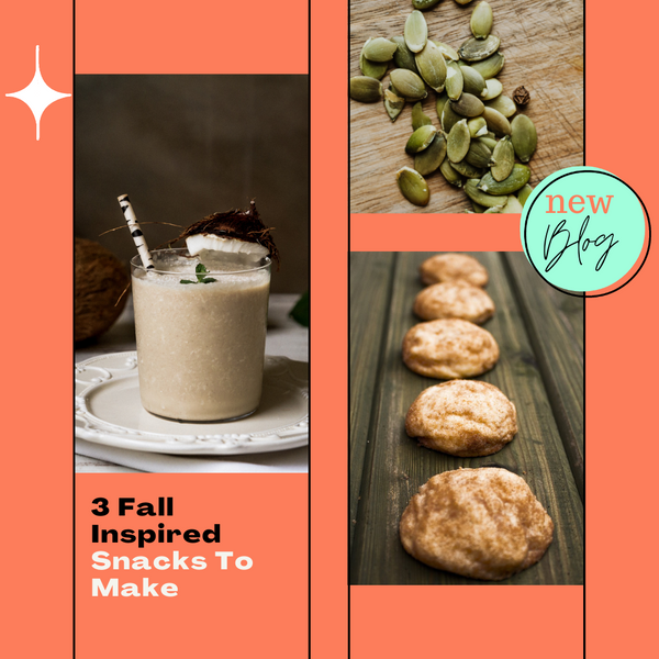 3 Fall Inspired Snacks To Make
