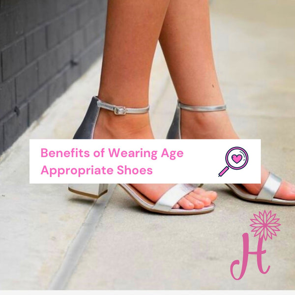 Benefits of Wearing Age Appropriate Shoes