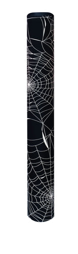 Spider Web bollard cover - black