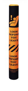 Look Before You Leave bollard cover