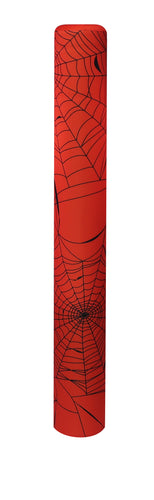 Spider Web bollard cover - orange