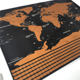 Map of The World - Scratch off Poster