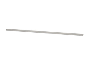 "Stainless Steel Skewer 3/4"" x 30"" (Flat)"