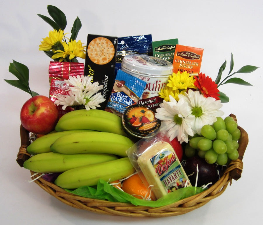 304 - Fruit and Goody Basket