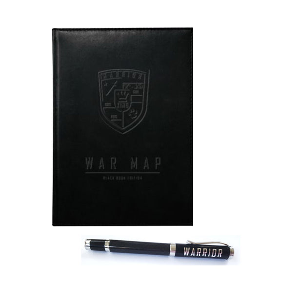 WAR MAP Journal and Pen Bundle